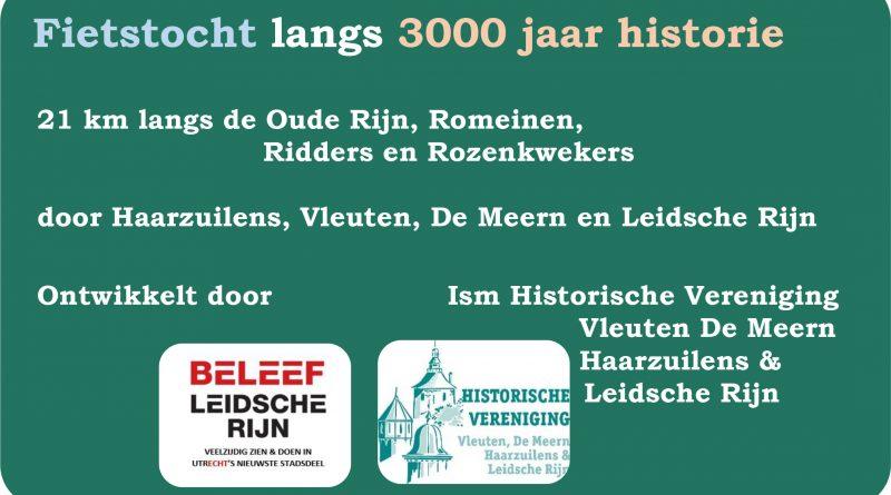 Fietsroute historie Leidsche Rijn