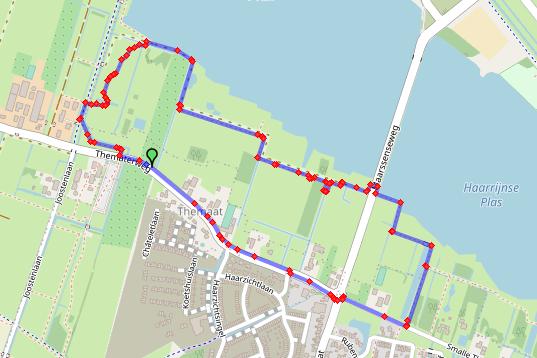 Kersenroute wandeling 3 km Haarzuilens