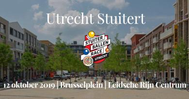 Utrecht stuitert stuiterballenrace
