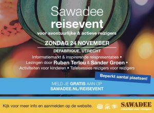 Sawadee reisevent 24 november