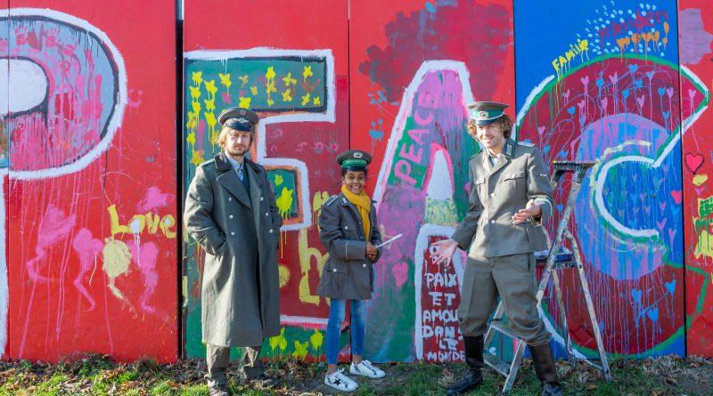 Val muur Berlijnplein