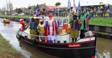 Aankomst Sint De Meern