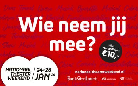Nationaal Theaterweekend Podium Hoge Woerd