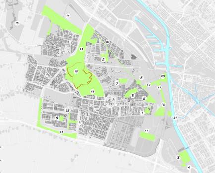Parkenkaart Leidsche Rijn