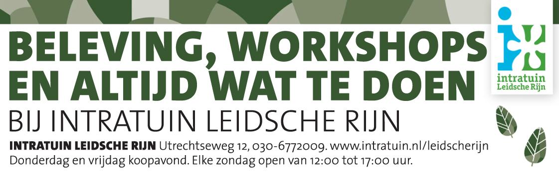 Workshops Intratuin Leidsche Rijn
