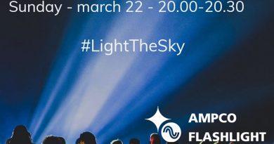 Light the sky Leidsche Rijn