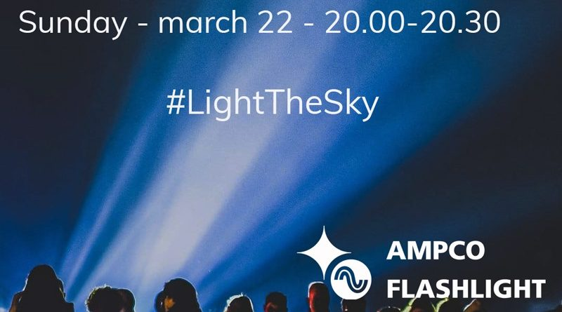 Light the sky Leidsche Rijn