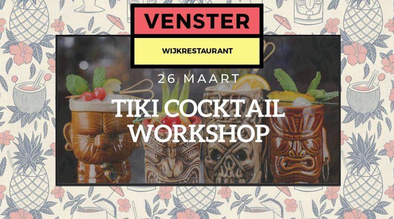 Tiki cocktail Venster Leidsche Rijn
