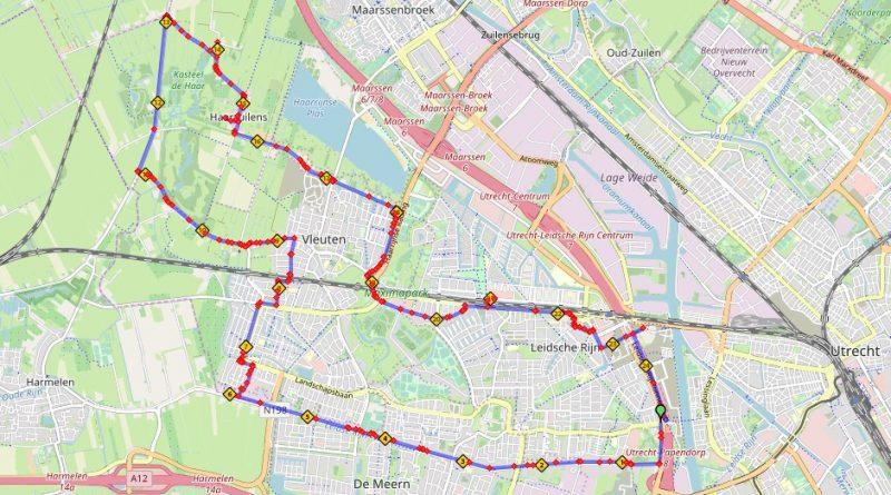 Fietsroute boerderijen 25 km Leidsche Rijn