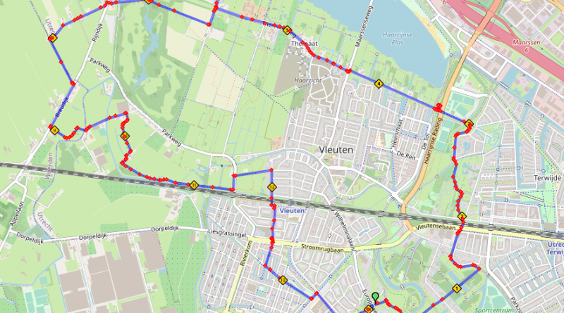 kinderbelevenissen fietsroute 14 km Haarzuilens Vleuten