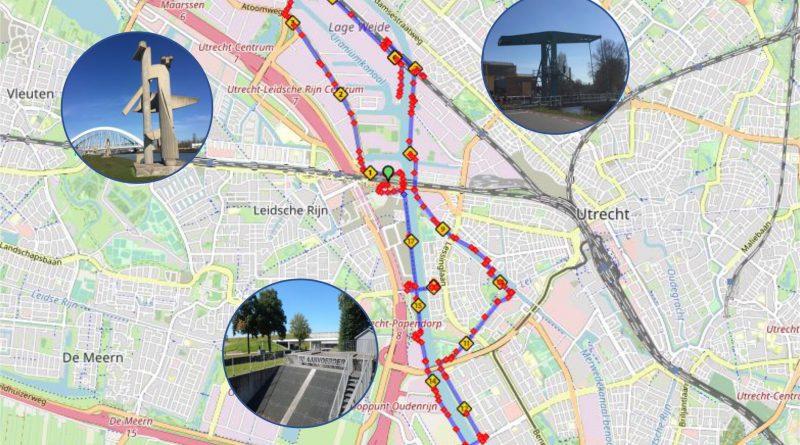 Fietsroute Lage Weide – Amsterdam-Rijnkanaal | 17 km