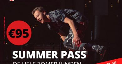 summer pass jump in Leidsche Rijn
