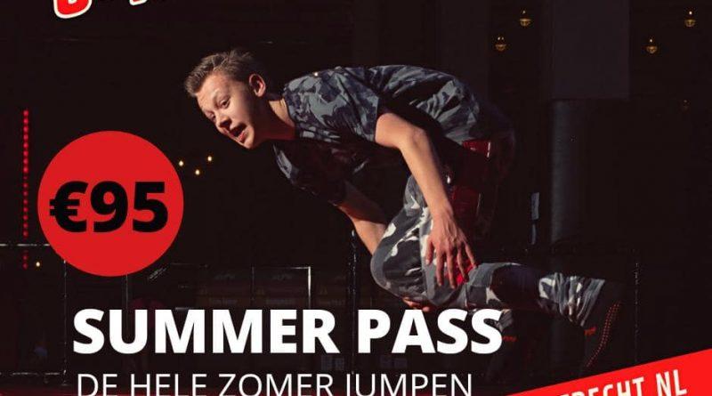 summer pass jump in Leidsche Rijn