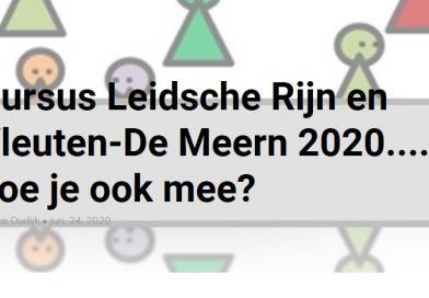 Okt t/m dec | Online cursus Leidsche Rijn Vleuten De Meern