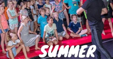 Summer camp play in Leidsche Rijn