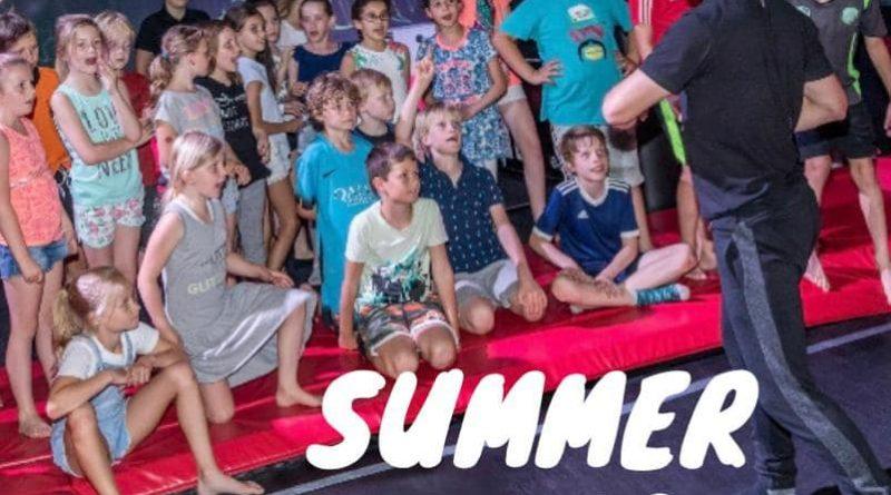 Summer camp play in Leidsche Rijn